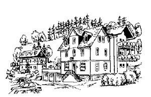 Gasthaus zum Waldfrieden, Spessart, Fellen